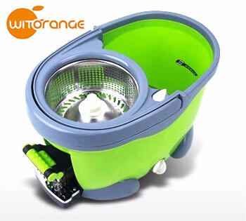 Witorange Stocked,Eco-Friendly Feature and PP Mop Head Material 360 floor MOP washing machine