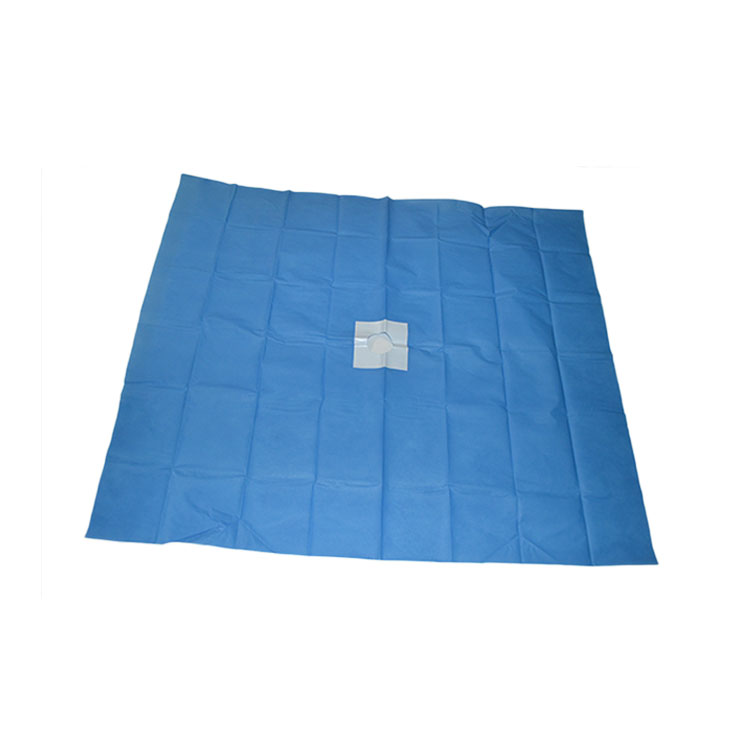 Hospital Use PE/Non-woven With Hole Sterile Disposable Surgical Drape