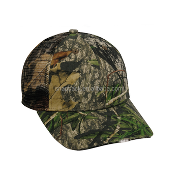 2c80ac89d60dc Wholesale custom military outdoor 6 panel with 3d embroidery your own logo  fishing camo led cap