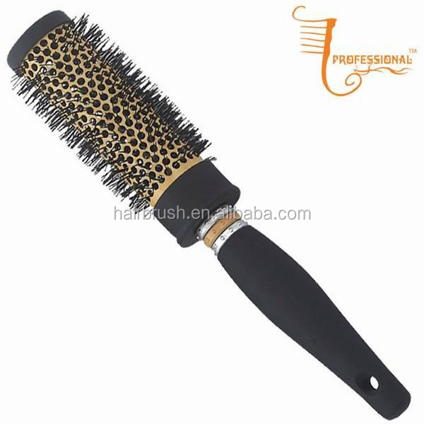 Newest professional wholesale thermal ceramic round ionic high quality hair brush