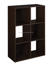 colorful finish wooden stackable storage cube, office wooden file cabinet, office filling cabinet