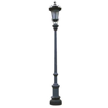 Classic Garden Lighting Pole Light , Pole Street Light