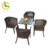 High quality and best price synthetic Aluminum Frame Outdoor garden Rattan Chair