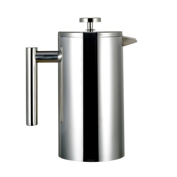 High quality double walled stainless steel french press