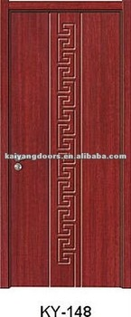 kaiyang europe quality interior hotel bedroom pvc mdf raised panel wooden door design