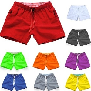 Custom Blank Summer Gym Beach Sports Mens Swimwear Swimming Shorts Trunks For Men