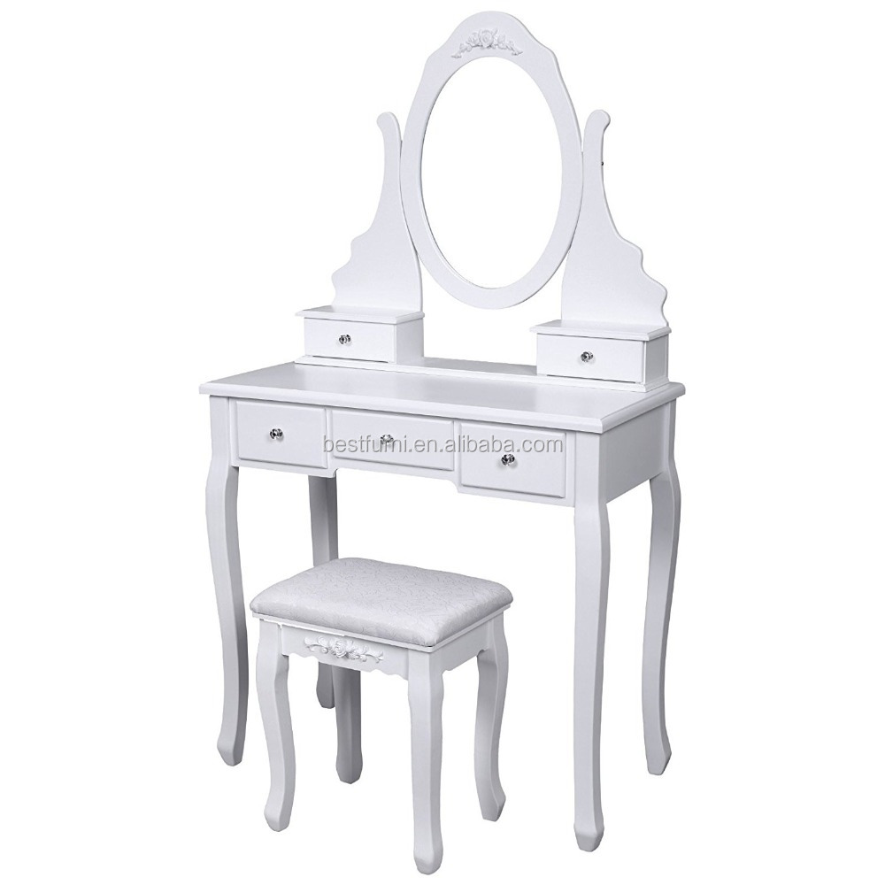Simple model mirror dressing table with stool5 drawers buy simple model mirror dressing table with stool5 drawers buy dressing table with stoolusa hot selling dressing table with stoolcheap wholesale dressing geotapseo Images