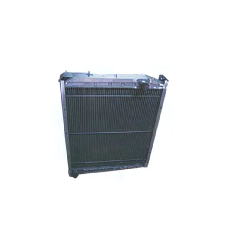 High quality heavy truck metal radiator water tank for howo