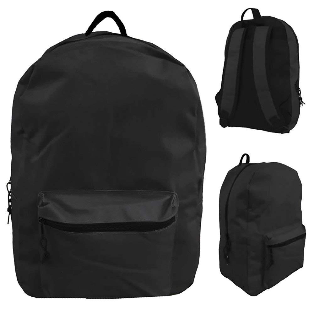 609fe471a5 Get Quotations · Classic Black Backpack 15