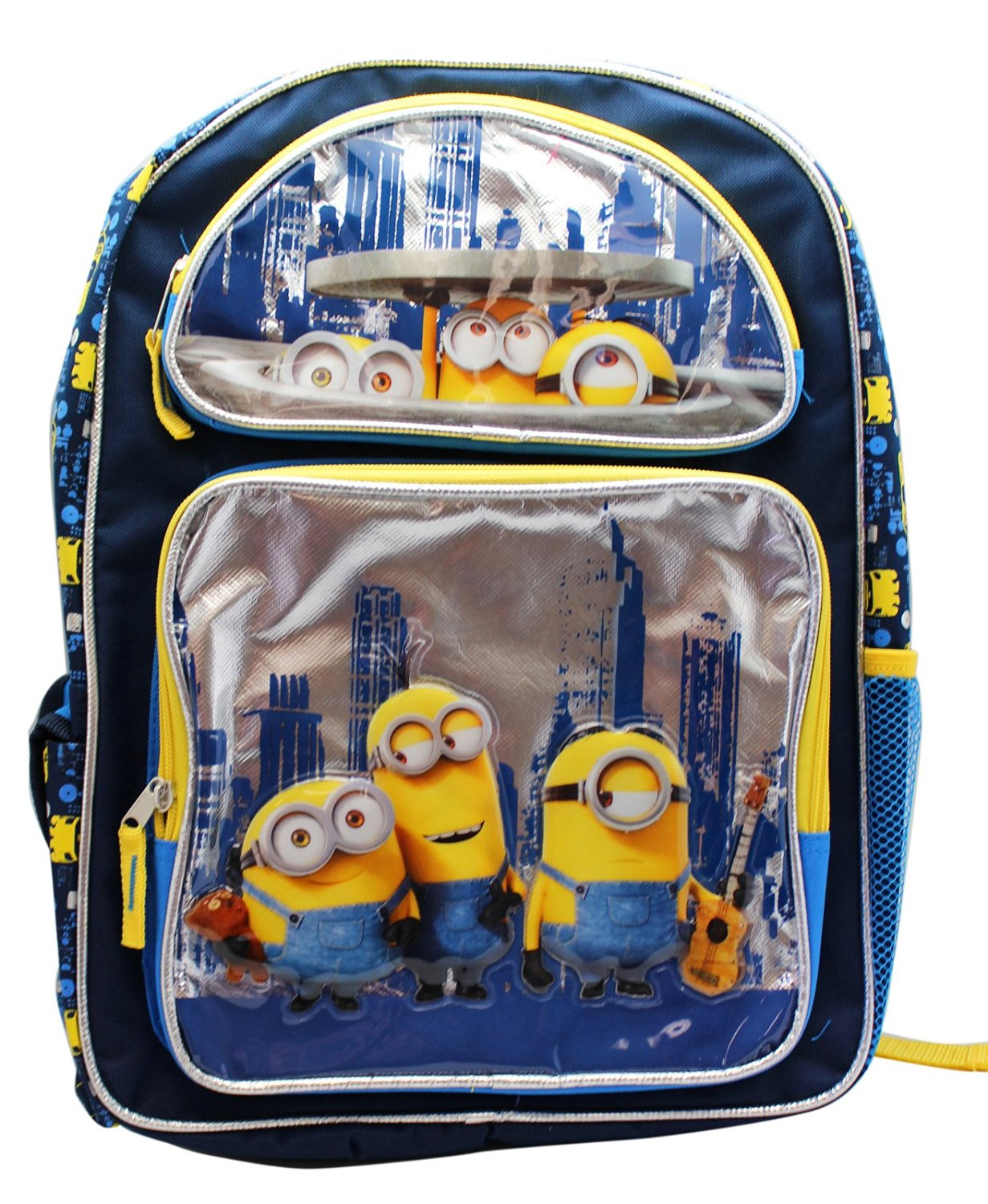 1cad2529af16 Get Quotations · New Minions New York Travels Large School Backpack-4537