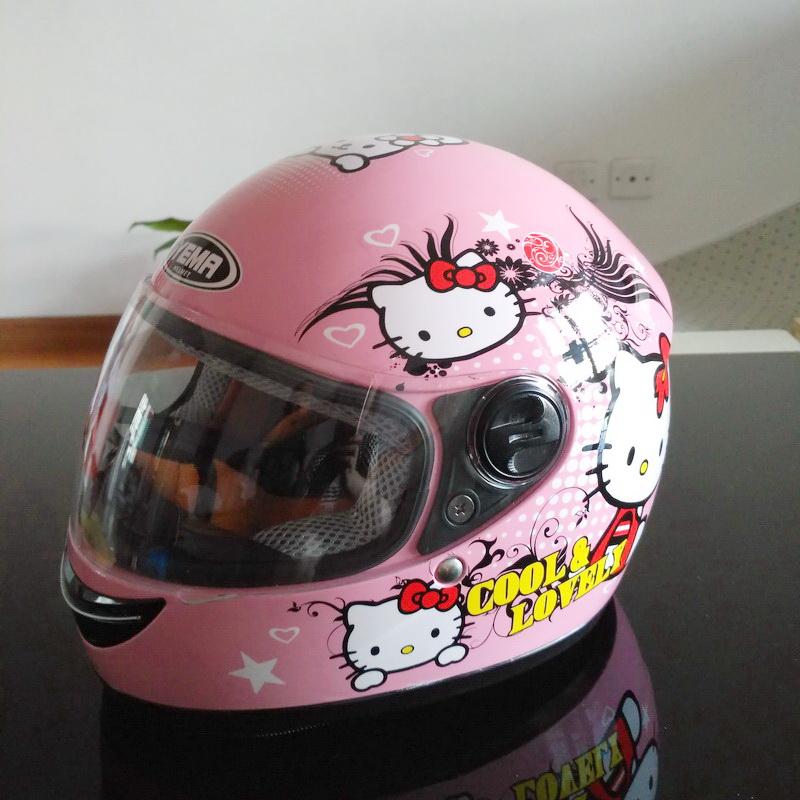 Compra Casco De La Motocicleta Para Los Ni 241 Os Online Al