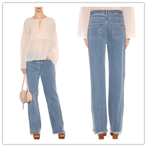 Super Soft Touch High Waist Wide Leg Jeans For Tall Women