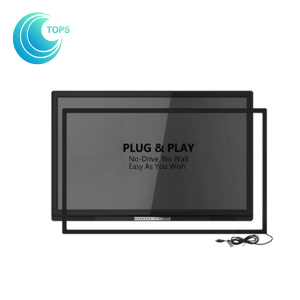 China supplier customized easy installation USB large touch screen panel