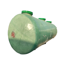 frp plastic septic tank in water treatment