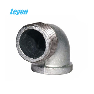 male/female threaded reducing elbow street elbow pipe 90 degrees galvanized  plumbing fittings
