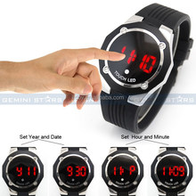 2015 Cheap China Watch Men Women Silicone Touch Screen Led Watch