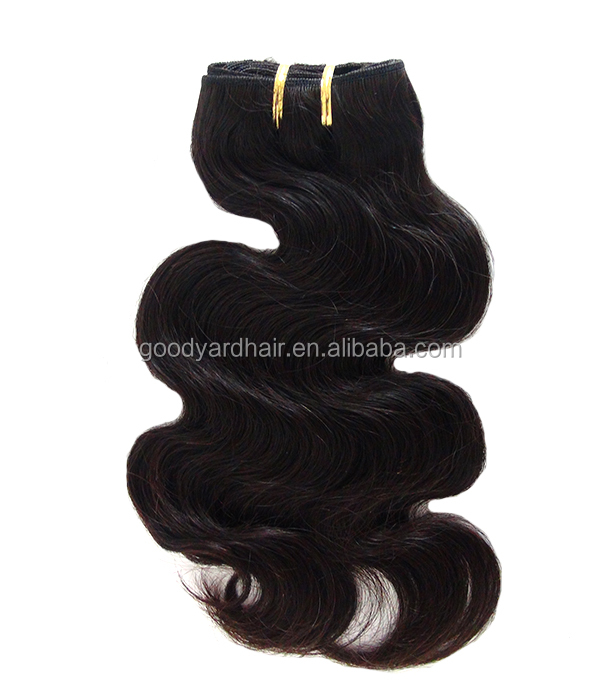 wholesale top quality unprocessed body wave natural hair extension <strong>human</strong>