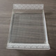 Rectangle Recycled Acrylic Lucite Serving Trays