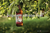 Beer Poster Popular New Technology Flash High Brightness Advertising EL Panel