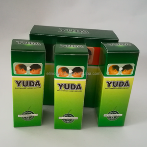 Market approved 3pcs/pack 60ml yuda branded hair growth oil men