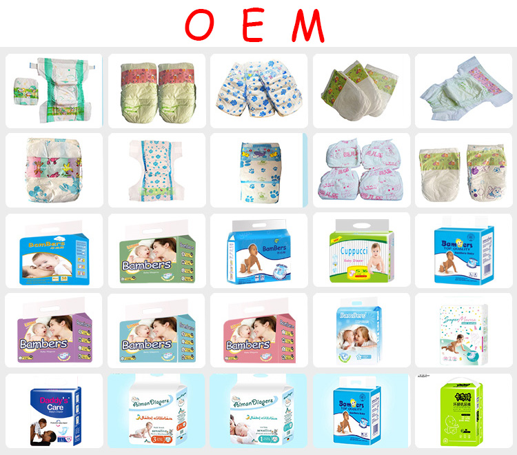 Wholesale baby diapersnappies/sleepy baby diaper/Support OEM baby diaper Factory Price Disposable Baby Diapers
