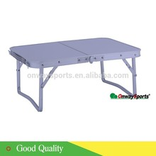Customer designed outdoor folding table aluminum lifestyle