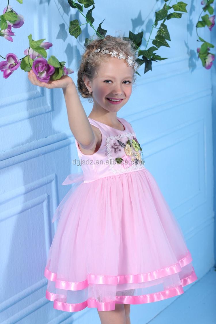Niños Boda De Playa Vestidos De Niña/rosa Vestidos Para Niñas De 10 ...