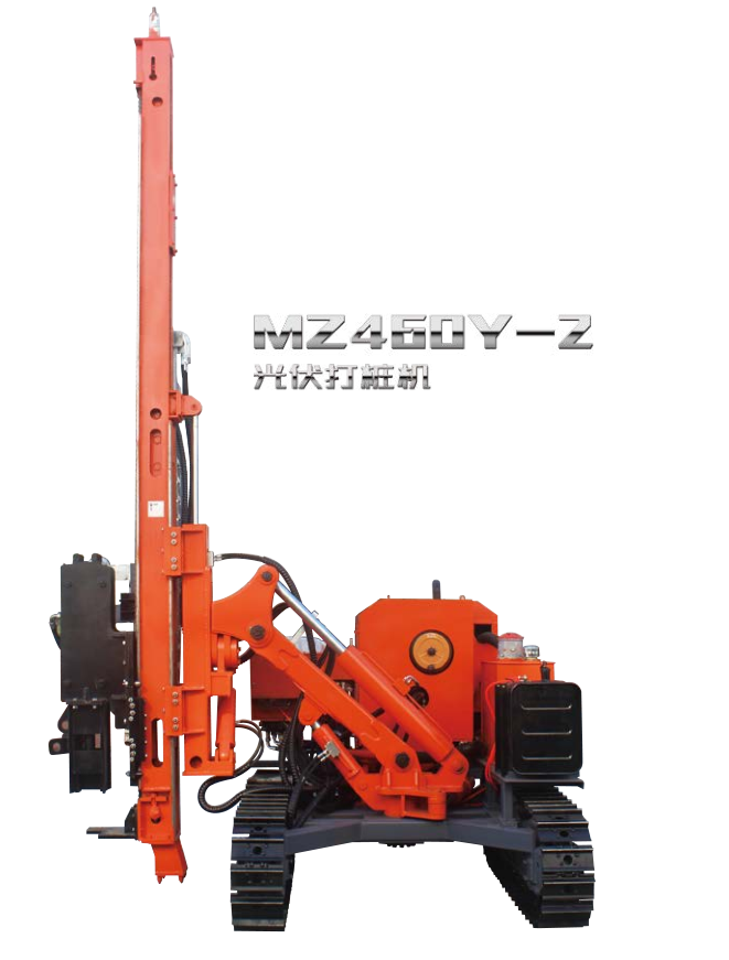 C piles ramming piling driving rig machine MZ460Y-2