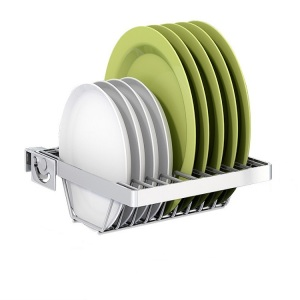 High Quality Stainless Steel Dish Rack / Dryer Drainer Tray Plate Cup Storage