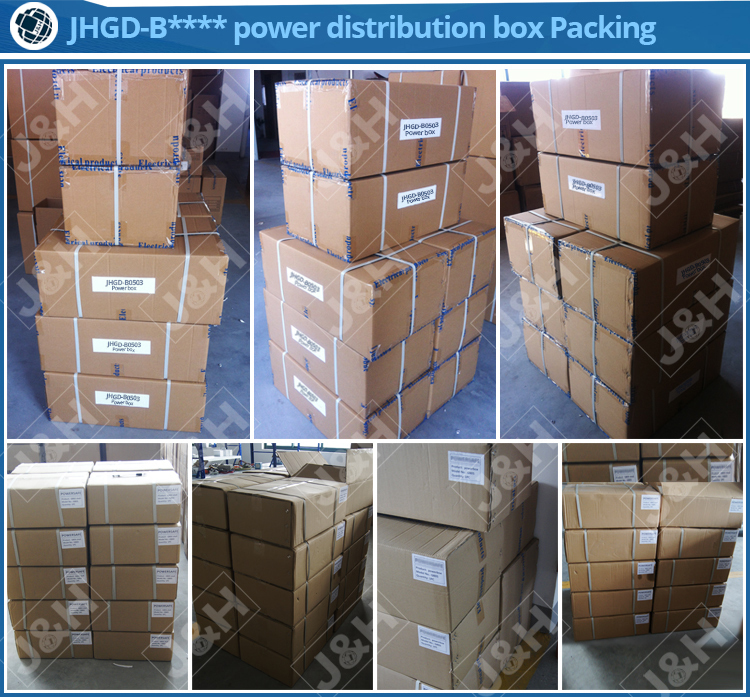 austrlian wateproof electrical distribution panel board, indoor and outdoor power distribution box, IP66 waterproof power box