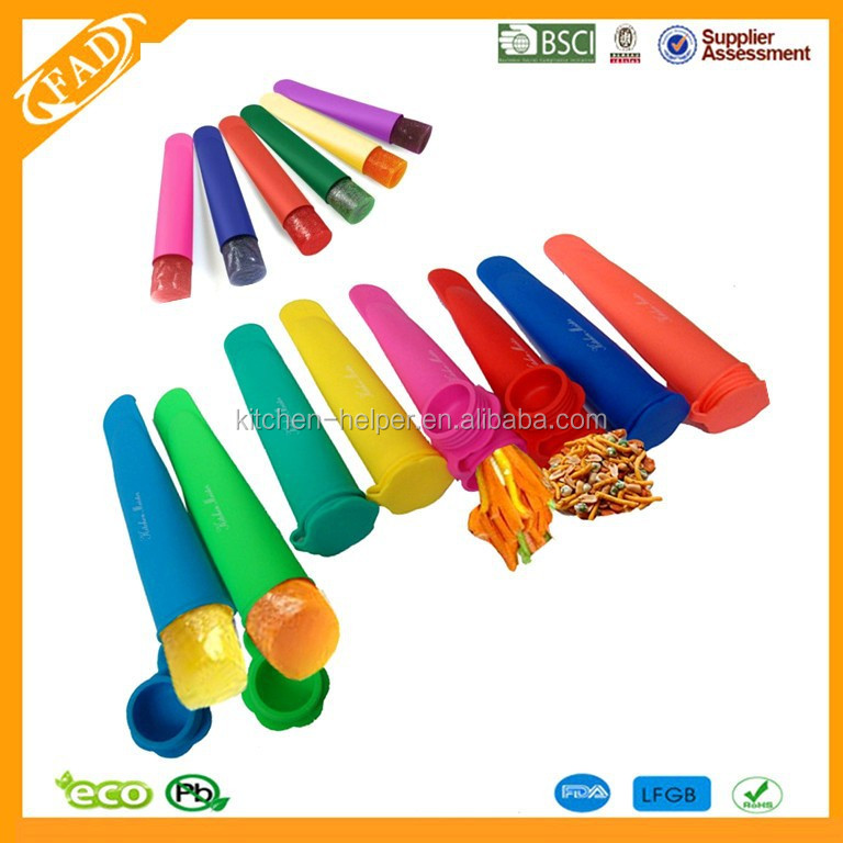 Promotional Silicone Icepop Popsicle Mold Maker