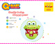 Q-KIDS frog shape kids plastic tumbler 2014 hot toys