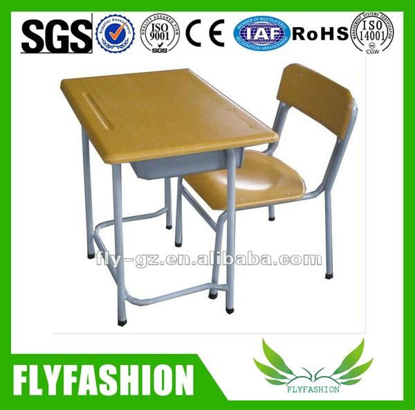 Flyfashion New Design Student Desk And Chair/modern School Desk ...