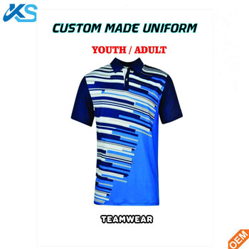 Wholesale sublimated short sleeve polo shirts teamwear Custom design high  quality logo printed mens polo shirt 93e8056c2