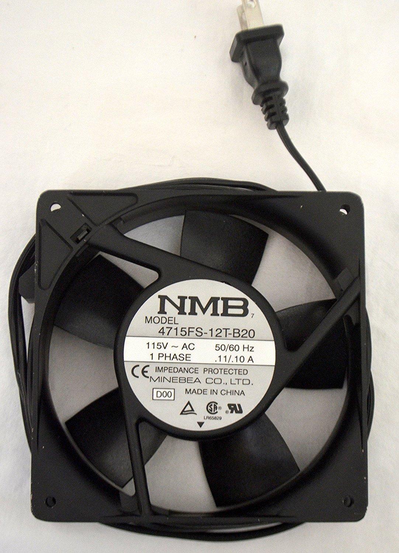 NMB TECHNOLOGIES 4715FS-12T-B20-D00 AXIAL FAN, 119MM, 115VAC, 100mA