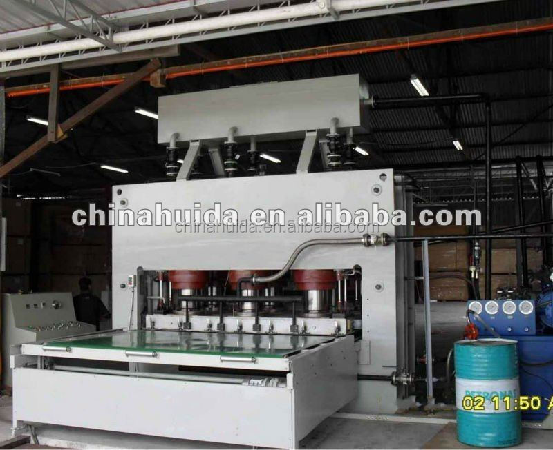 short cycle Laminated Plywood Press Production line