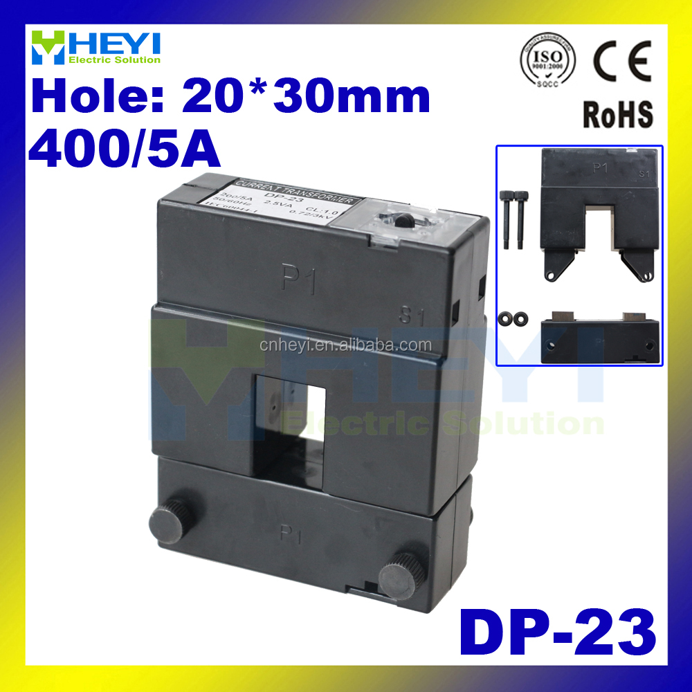 split core current transformer 400/5 open type clamp on CT