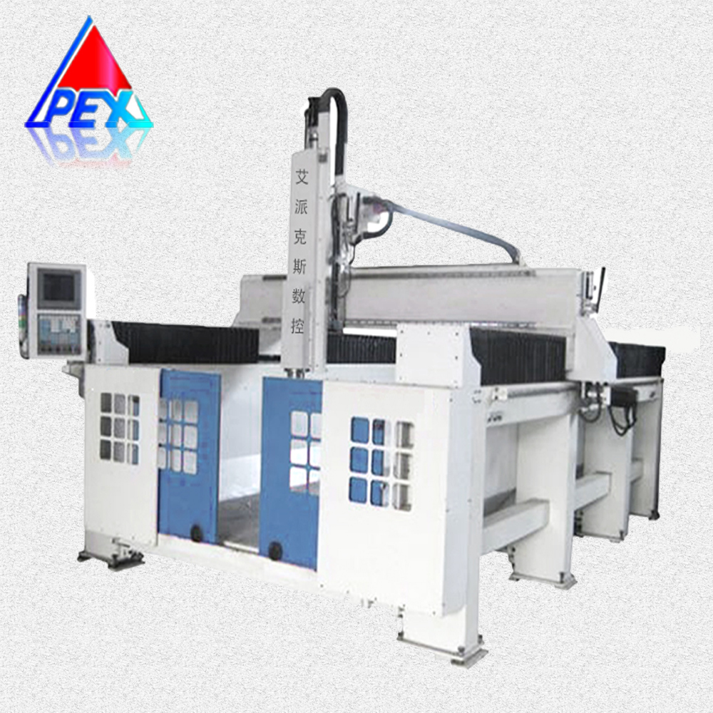 New design cnc router milling machine 5 axis , ATC auto tools changer 5 axis machine