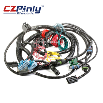 dump truck power switch wiring & starter harness