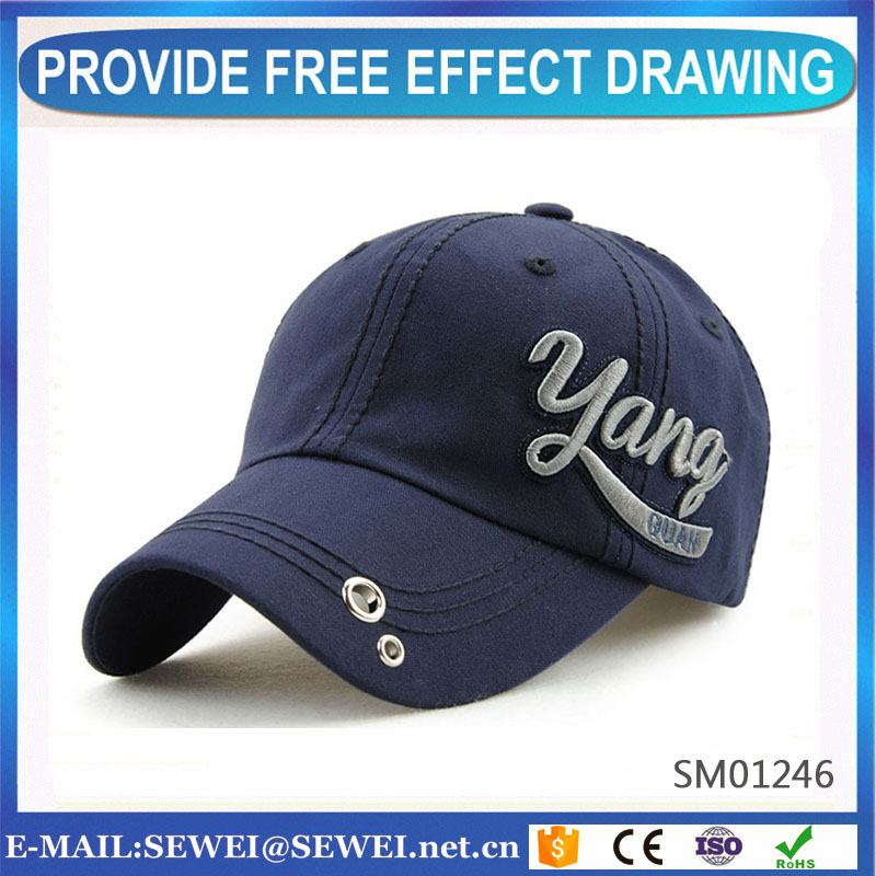 Quality 3d embroidery baseball cap and hat With Good Service