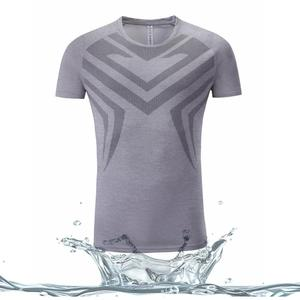 High quality athletic gym jogging t shirt for men