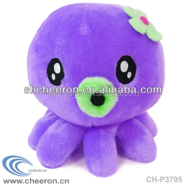 Cute plush octuopus pp cotton emoji pillow octopus plush toy