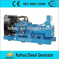1000kw MTU Diesel Generator Set Open Type Price