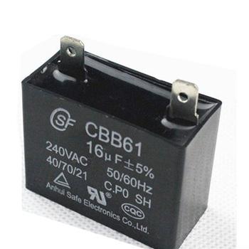 Generator Ac Motor Run Capacitor Cbb61 550vac 450vac ...
