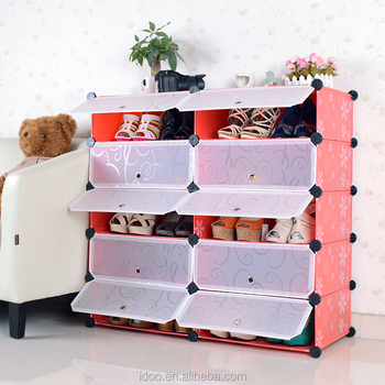 Hot Sale In Vietnam Shoe Cabinet Large Portable Clear Plastic Storage  Container (FH AW151012