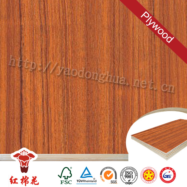 Double faces 22mm poplar/pine core marine plywood blockboard Double faces manufacturer