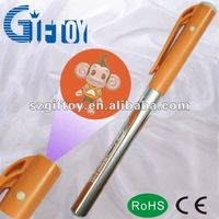 eight photos projector pen with promotional
