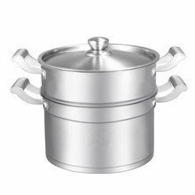 Functional Cookware Pot Stainless Steel Food Steamer Pot 28cm