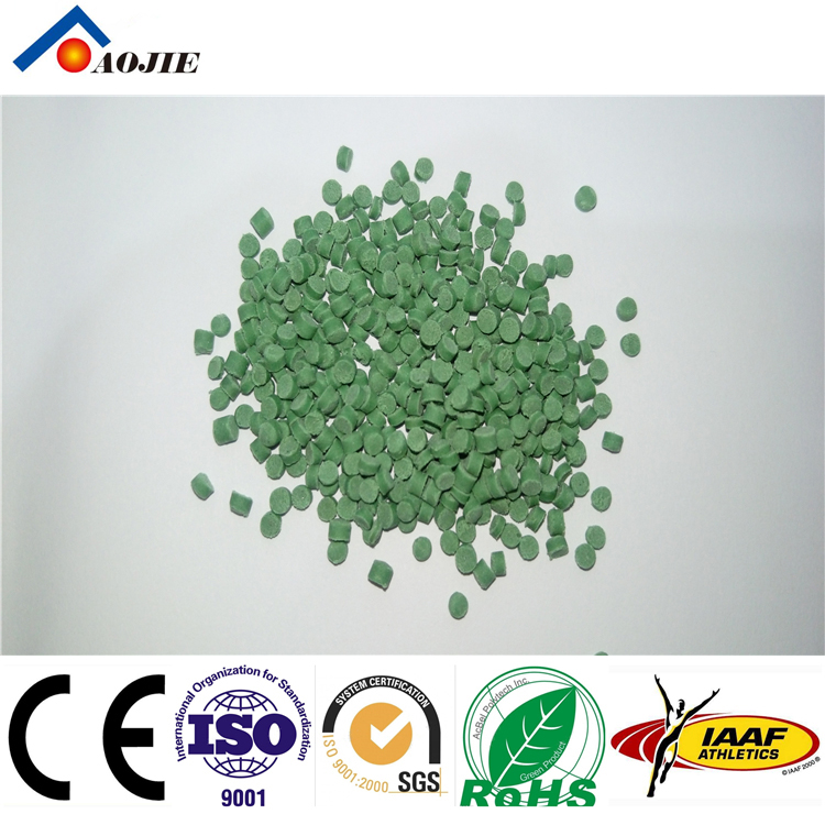 TPE Safe Recycle Rubber Artificial Grass Infills Eco-friendly TPE Rubber Granule