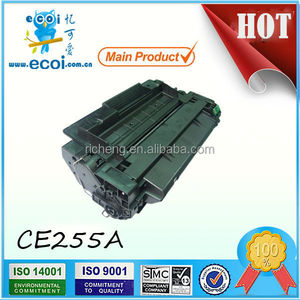 Compatible toner cartridge CE255 used for HP P3010/P3015 printers